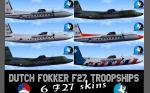 Dutch Fokker F27 Troopships