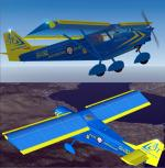 FSX /FS2004  ICP  Savannah Pili Aeroclub SX-UBZ Package.