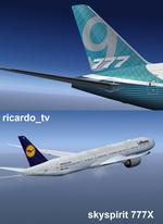 Boeing 777-9 Multi Livery Package (v2)