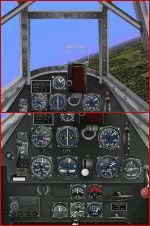 Messerscmitt             BF109 F/G panel for CFS only.
