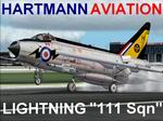 FS2004/2002                   EE Lightning F.Mk.1A 111 Squadron Textures only