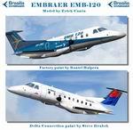 FS2004                   Embraer 120 Delta and Factory Repaint