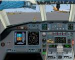 Dassault Falcon 7X 2D panel