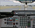 British Aerospace BAE 146 2D panel