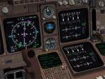 FSX Default B747-400 Modified Virtual Cockpit