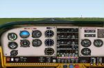 FS2000                   Cessna 182rg older panel