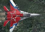 """Demo Mikoyan MiG-29, Codename """"FULCRUM"""", Russia special paint"""