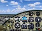 FS                   2004 Cessna 195 Photo-real Panel.