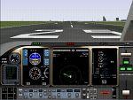 FS2000                     Generic 3-engine Jet Panel.