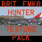 Alphasim Hunter British Fmk6 textures pack