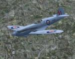 FSX/FS2004 Spitfire MK XIX
