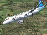 Airbus A321 Garuda Indonesia Textures