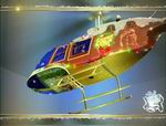 FSX                   Bell 206B Christmas Textures only