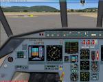 Dassault Falcon 2000 2D panel
