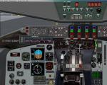 Boeing KC 135 2d Panel  Updated