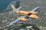 FS2004                   Cessna 404 Titan Gold/Chrome: