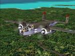 B-25J Umbrella Girl