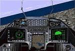 SAAB                   39 Gripen aircraft.Panel