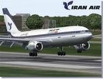 FS2004                   Airbus A300B4-200 Iran Air.
