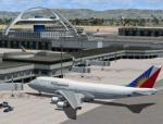 FSX Boeing 747-400 Philippine Airlines Textures & Traffic