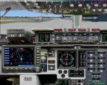 FSX/FS2004 Boeing C17 2D Panel