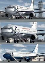FSX/P3D Boeing 737-700 USAF/RAAF/RMAF Package