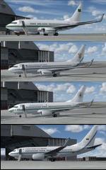 FSX Boeing 737-700 SAAF/NAF/FAC/RSAF Package