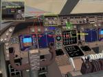 FSND FSX Boeing 747 Upgraded Virtual Cockpit