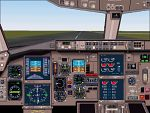 FS2000                   Boeing 757-200 panel