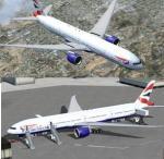 Boeing 777-300ER British Airways G-STBA with VC