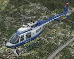 FSX                   Bell 206B Polish Police Textures Only.