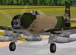 FS98/FS2000                   Douglas A-1J Skyraider USAF