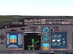 FS2000                     Panel for the Airbus A319/320.