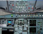 Airbus A 319 2D panel
