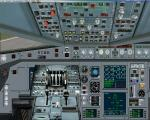 Airbus A340 2D panel