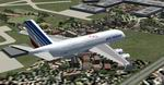 FS2004                   Airbus A380 Air France Textures only
