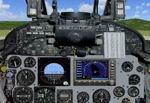 FS2004                     Photorealistic Douglas A4 Skyhawk Panel