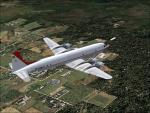 FS2004/FSX DC-7 Bolivian International Textures