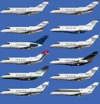 Hawker 800XP AI Traffic Package