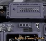 FS2002/FS2004                   Announcement Panel v1.0