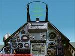 Mirage                   2000 Panel for FS2002