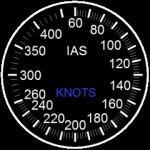 Boeing-ish Airspeed gauge for Saitek FIP