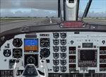 FS2004                   King Air 2D panel