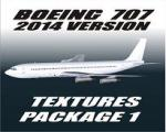 FS9/FSx Boeing 707 -2014 Version Textures pack 1