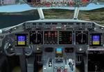 FS2002                   B 717 jumpseat view.