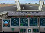 Boeing 717 2D Panel (standard screen)