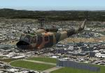 FS2004                   Bell-UH-1H Dominican Republic Airforce New Colors