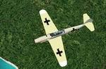 "Bf             109 Gustav ""Lucky Six"" of the German Luftwaffe."