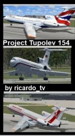 Tupolev Tu-154 V1 Package