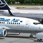 PMDG Boeing 737-600 Blue Air Lufthansa hybrid yr-amb Textures